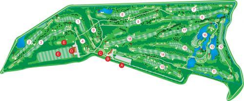 Baanimpressie Golfclub Broekpolder