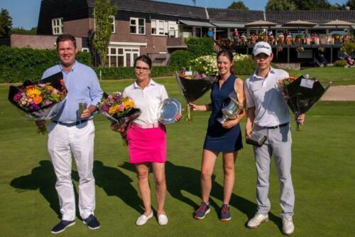 vlnr: Mauring Lindenburg, Marleen Grooters, Quirine ter Meulen en Henry Lai